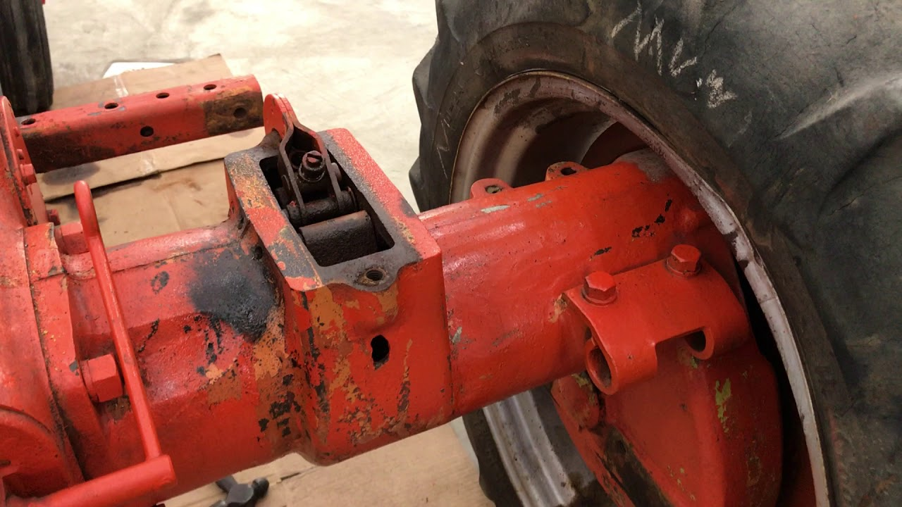 Allis Chalmers Tractor C - CA - B Brake Pin removal!