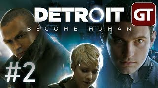 Thumbnail für Let's Play Detroit: Become Human PS4 #2 - Detroit Gameplay German Deutsch