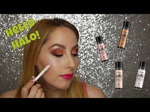 Wet n Wild 'Hello Halo' Liquid Highlighter - Try On/First Impressions + Review | Spill the Beauty