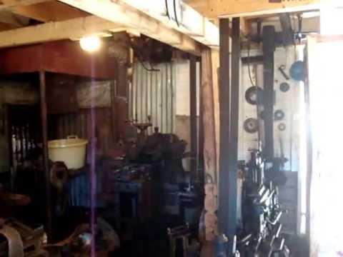 1920's Working Machine Shop For Sale in Sweden