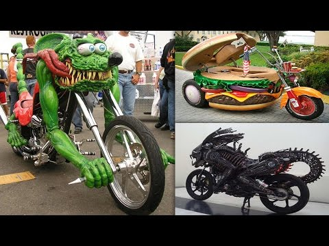 Most Unusual & Weirdest Motorcycles Ever Made
