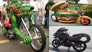 Most Unusual & Weirdest Motorcycles Ever Made #1