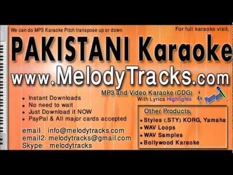 Teri yaad satandi - Sajjad Ali KarAoke - www.MelodyTracks.com
