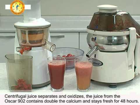 Cold Press Juicer Vs Juice Extractor : Cold Press vs Centrifugal Juicers - YouTube