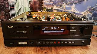 A&D (Akai & Diatone) D-930 / AKAI AD-M939 DAT Recorder Test