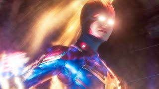 CAPTAIN MARVEL - 8 Minutes Clips + Trailer (2019)