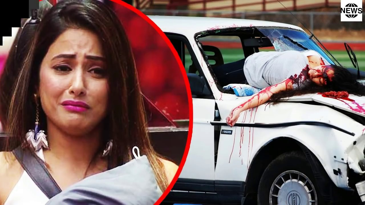 hina khan is upset because her fan dead | vikas gupta - youtube