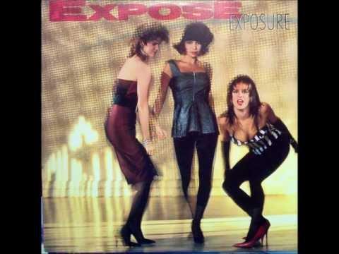 Expose - Come Go With Me (Lyrics)