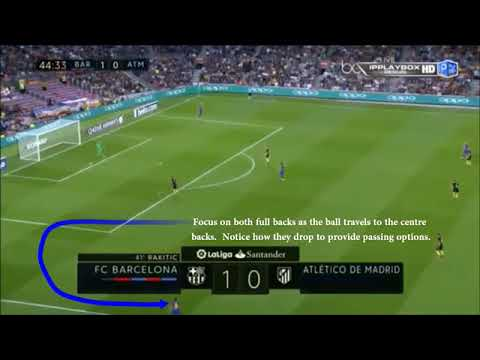 FC Barcelona Soccer Analysis - Playing out from Goal Kicks