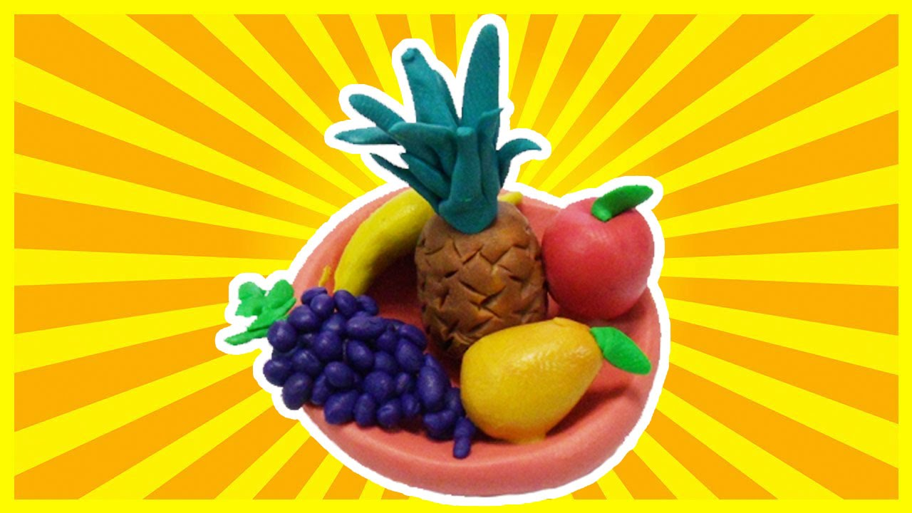 Fruit Basket Making Video With Playdoh - YouTube