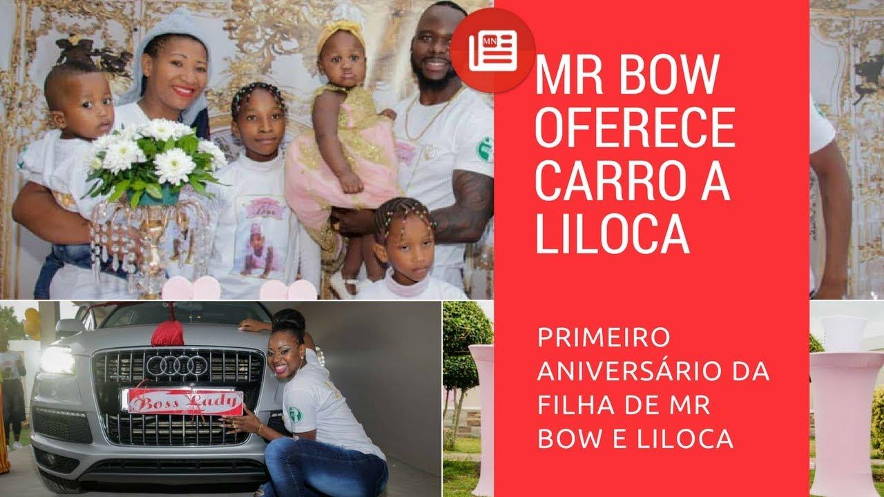 Mr Bow Oferece Carro A Liloca & Veja O Aniversario Da Princes Dior
