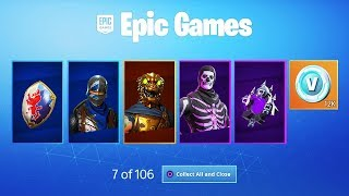 The PURPLE SKULL TROOPER Glitch in Fortnite...