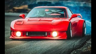 MAZDA RX7 Big TURBO & IDLE Sounds!!!