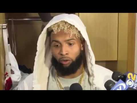 Odell Beckham Jr.Post Game Interview | Giants vs Cowboys WEEK 14