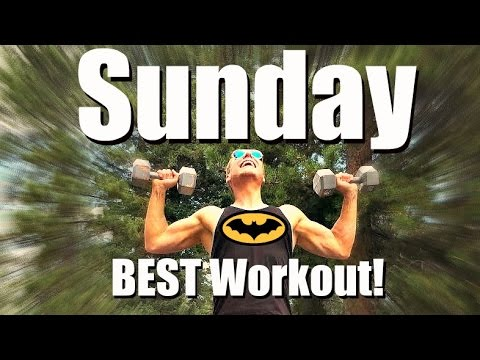 Sunday - Dynamic Total Body Strength Workout - 7 Day Fitness Challenge #7dayfitnesschallenge