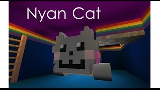 Roblox: WhatDidYouDo456 Plays Ride a Nyan Cat Down a Rainbow!