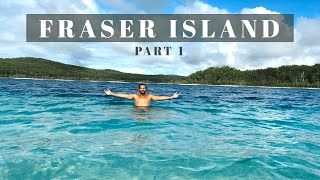 FRASER ISLAND Camping // Flaтhead CATCH AND COOK // Island Touring for 5 days PART 1
