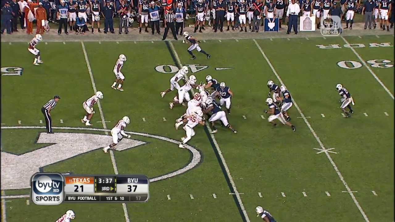 Football 2013 vs. University (September  7, BYU of Texas