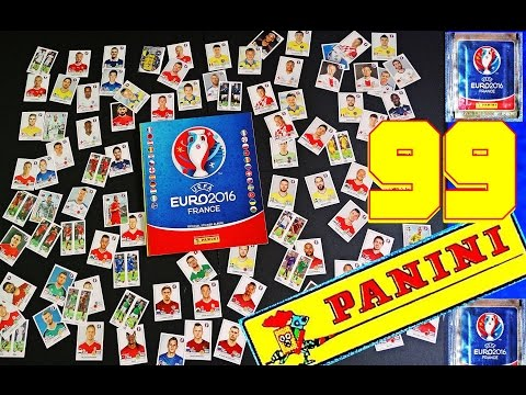99 PANINI UEFA EURO 2016 OFFICIAL MEGA FRANCE new STICKER ALBUM EM Frankreich  Panini 99 Sticker 3-1