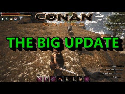 CONAN EXILES ... THE BIG UPDATE