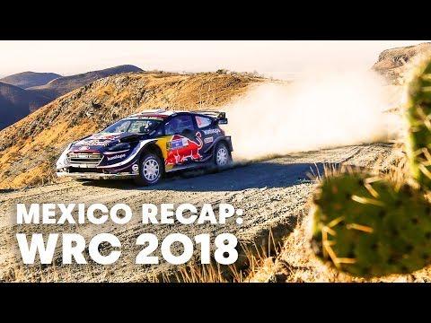 Mexican mayhem unfolding at WRC Mexico 2018.