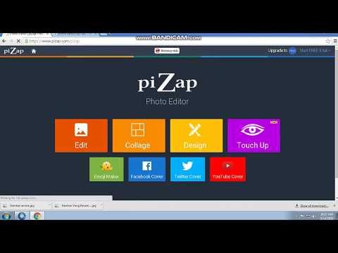 Cara Mudah Membuat Header Channel Youtube Menggunakan Aplikasi Pizap
