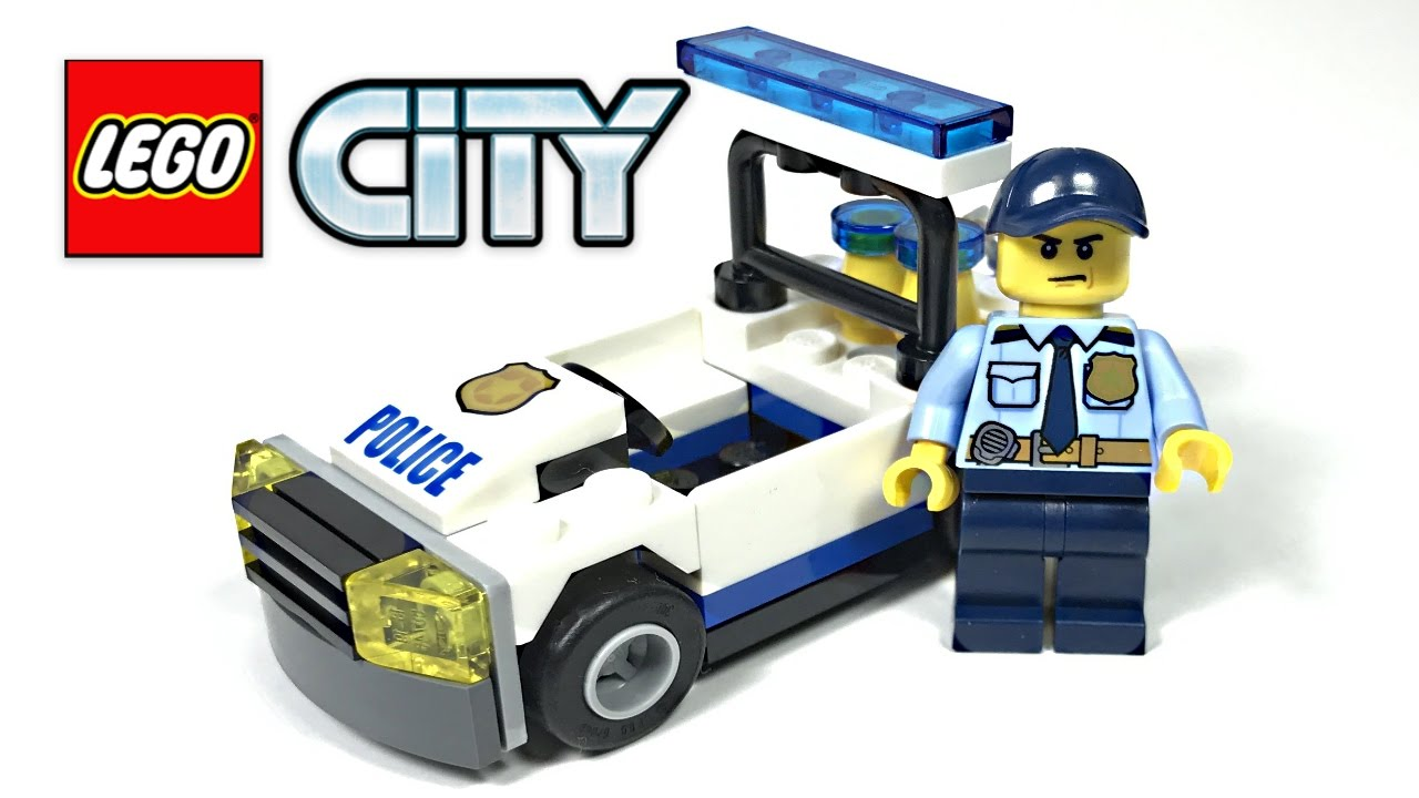 Lego City Police Car Review 2017 Polybag 30352 Youtube