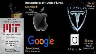 The Impending Revolution in Transportation - Dr. Stefan Heck