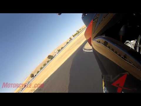 2012 Aprilia RSV4 Factory APRC vs. 2012 MV Agusta F4RR Corsacorta
