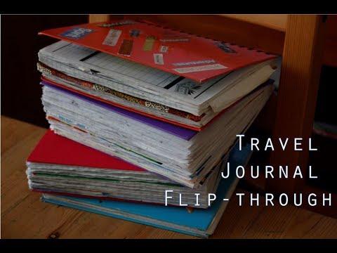 Travel Journal Flip-through  |  Poland and Australia