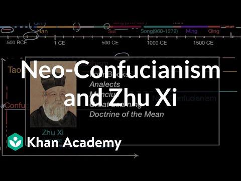 Neo-Confucianism and Zhu Xi | World History | Khan Academy