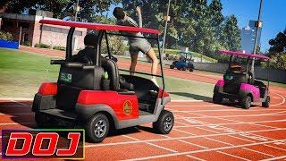 Video GTA 5 Roleplay - DOJ #88 - Golf Cart Racing download MP3, 3GP, MP4, WEBM, AVI, FLV Oktober 2018