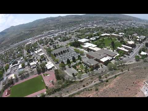 Idaho State University - Aerial by Kantabutra using Phantom 2