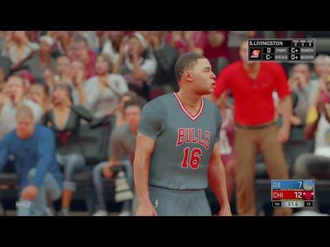 NBA 2K17 Wet like water.