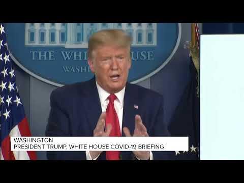 President Trump, White House coronavirus briefing (March 31, 2020)