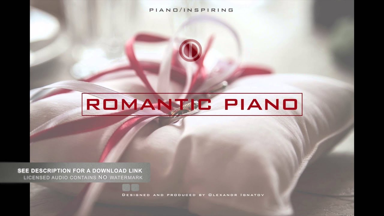 Piano Instrumental Wedding Videos Background Music Royalty Free Stock Audio By Olexandr Ignatov You