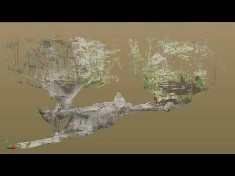 Qk4 Cave LiDAR Demo