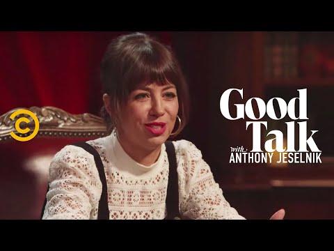 Natasha Leggero Couldn't Stop Swearing at a Jewish Fundraiser - Good Talk with Anthony Jeselnik