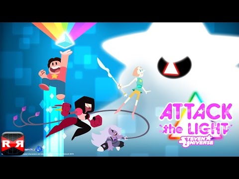 Attack the Light - Steven Universe Light RPG (By Cartoon Network) - iOS / Android - Gameplay Part 1