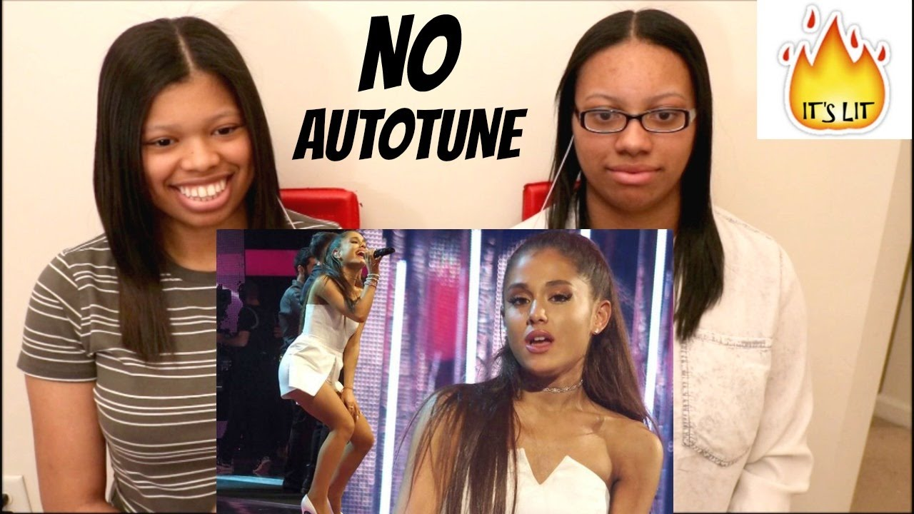 Download Ariana Grande's Real Voice (WITHOUT AUTO-TUNE) | REACTION