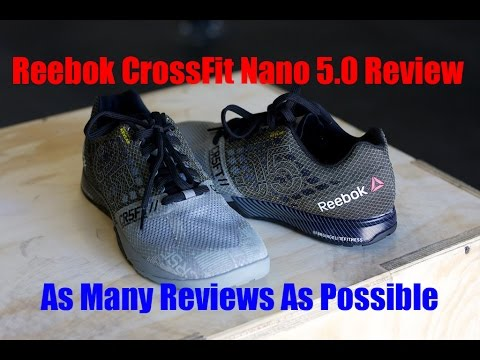 Reebok 5 Crossfit Nano Best 0 Youtube Review Shoes xOB4wq4