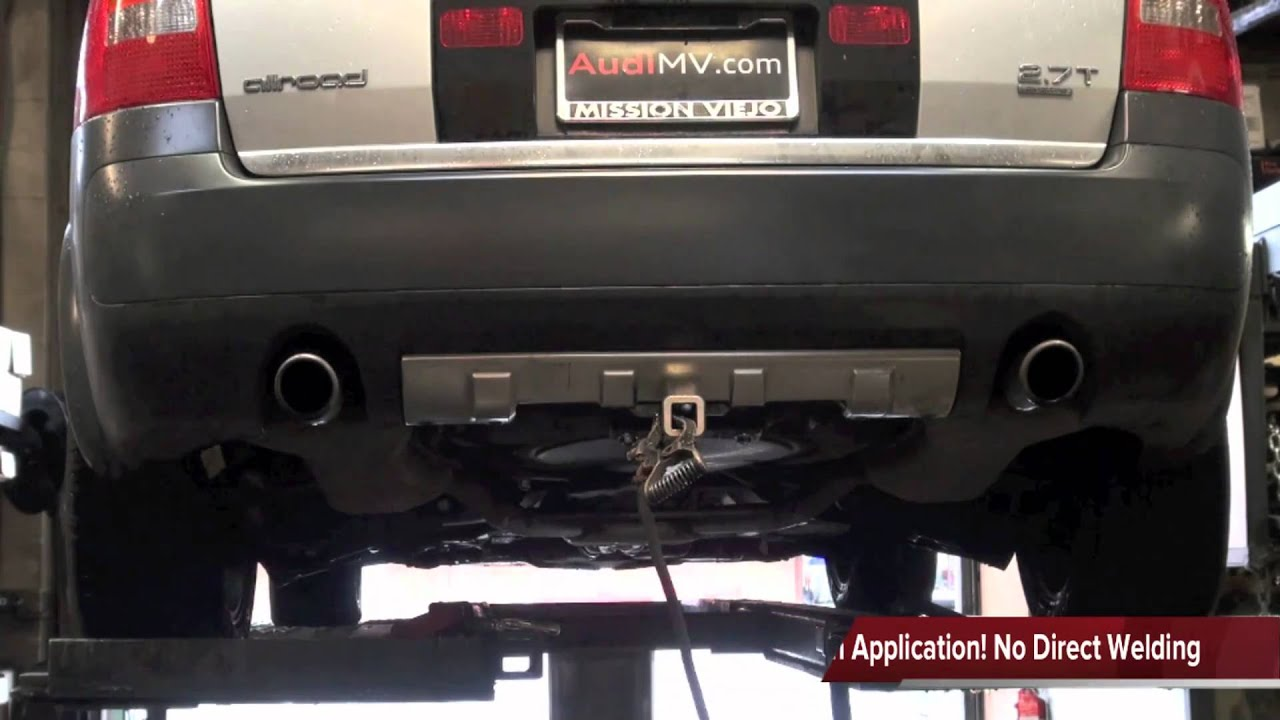 audi allroad custom fab d trailer hitch youtube rh youtube com 2003 Audi A4 Turbo 2003 Audi A4 Tiptronic