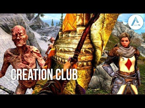Skyrim Creation Club Mods: Soul Stealer Arrows, Plague of