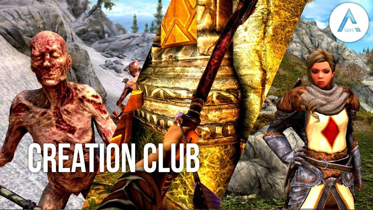 Skyrim Creation Club Mods: Soul Stealer Arrows, Plague of the Dead