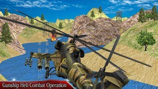 Gunship Heli Combat Operation Android Game Play