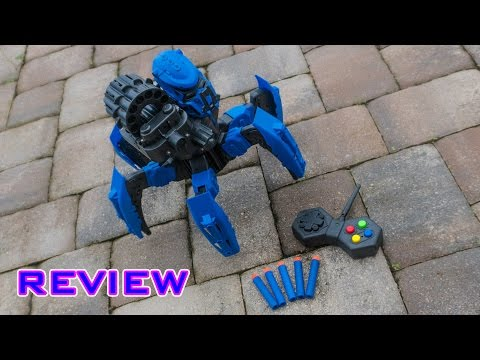 [REVIEW] Foam Flinging RC Robot Space Armor Warriors Six-legged Spider