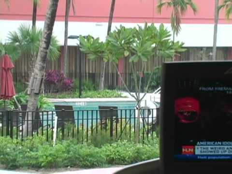 courtyard by marriott miami airport hotel youtube. Black Bedroom Furniture Sets. Home Design Ideas