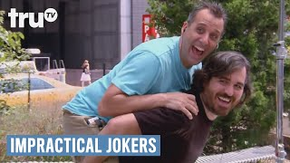 Impractical Jokers - Piggyback Taxi Ride