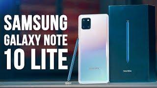 Galaxy Note 10 Lite Обзор 🔥 Samsung ХИТРЫЕ МОРДЫ!