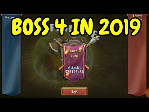 Boss 4 In 2019 L Castle Clash